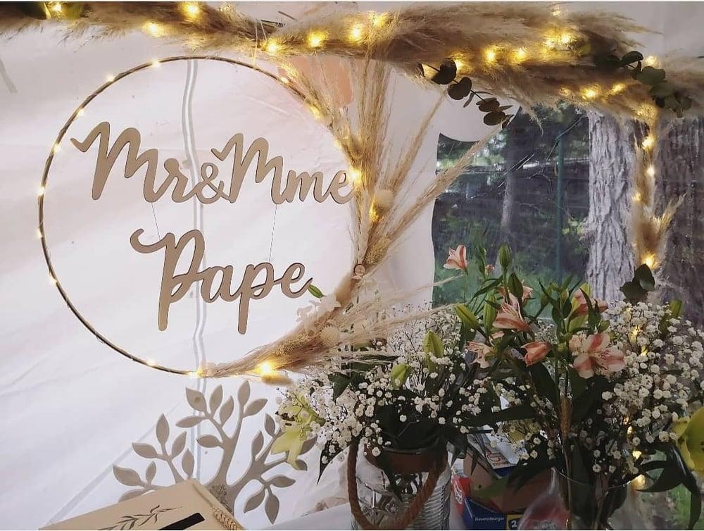 """Image of Déco """"Mr & Mme"""""""