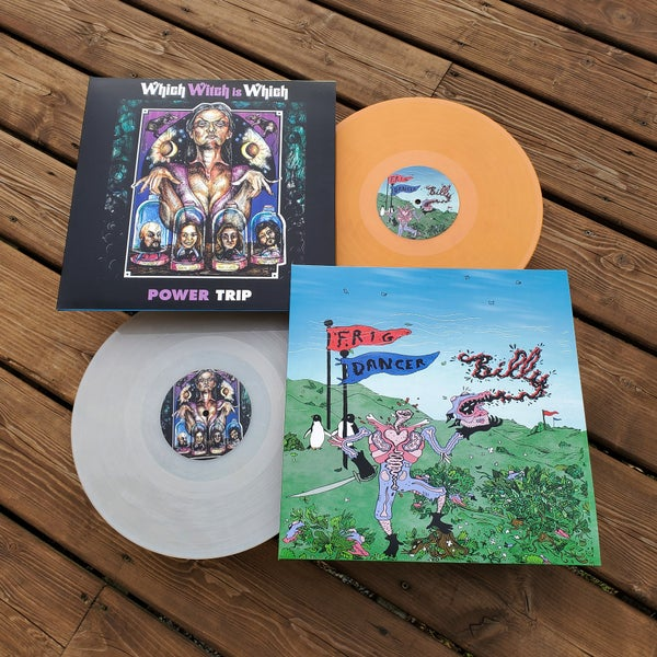 Image of Which Witch Is Which / Frig Dancer • Split LP
