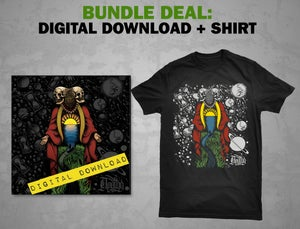 Image of Apathy - Where The River Meets The Sea: DOWNLOAD + Shirt [BUNDLE] DGZ-047