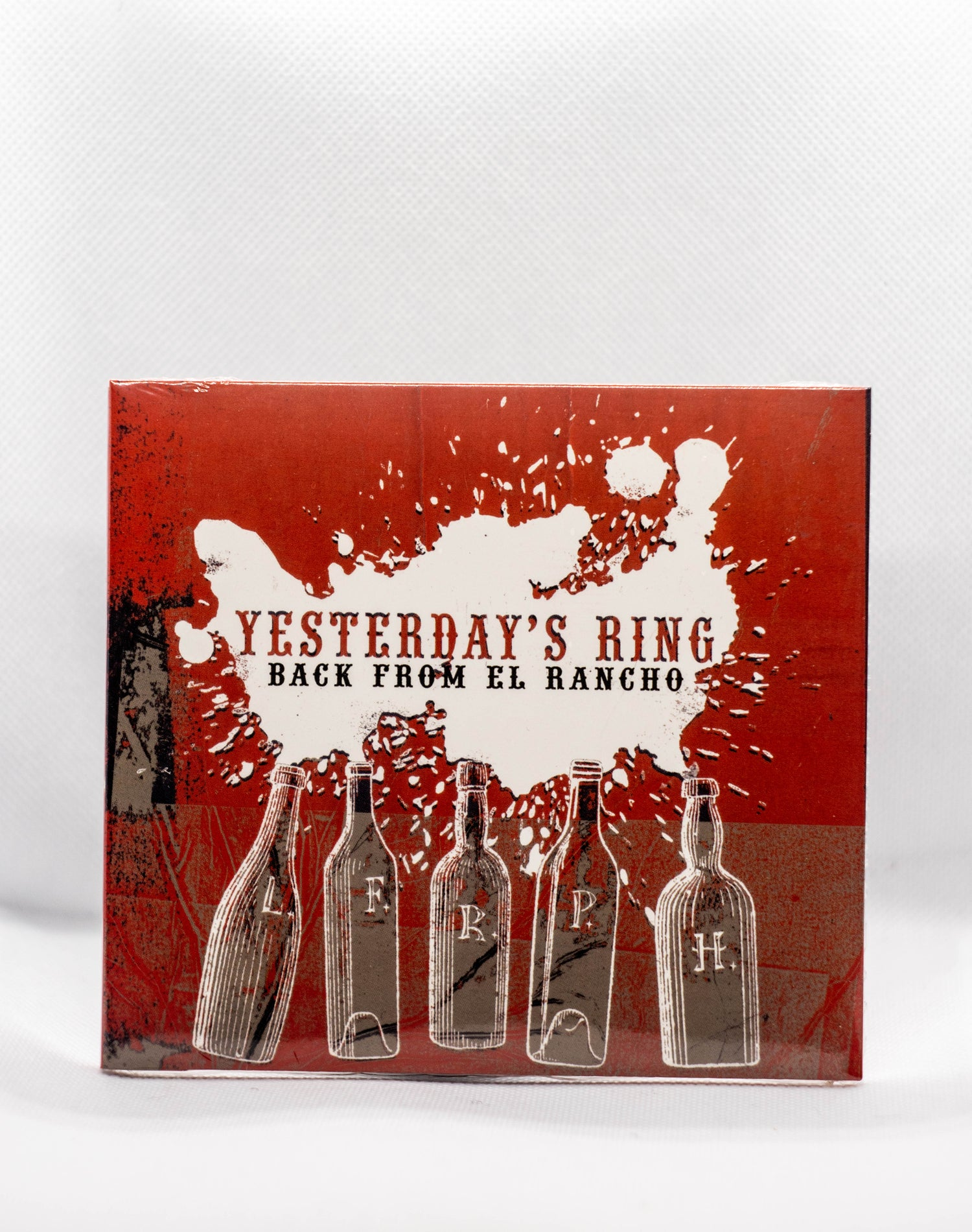 """Image de Yesterday's Ring """" BACK FROM EL RANCHO """" CD"""