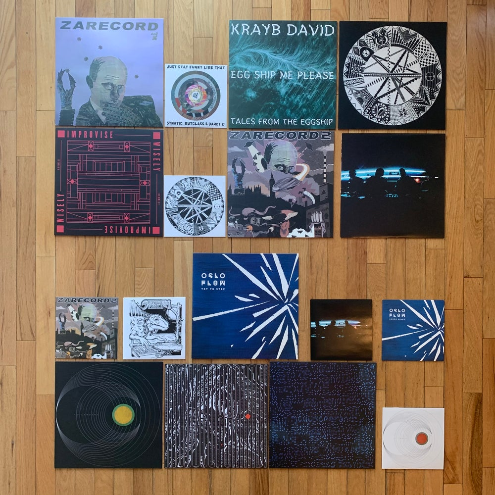 Image of Cut & Paste Records IN STOCK bundle!
