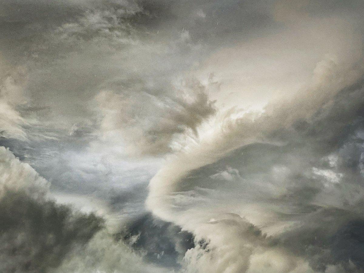 Image of SKY ABOVE FORMBY BEACH, ONE RAINSTORM EVENING