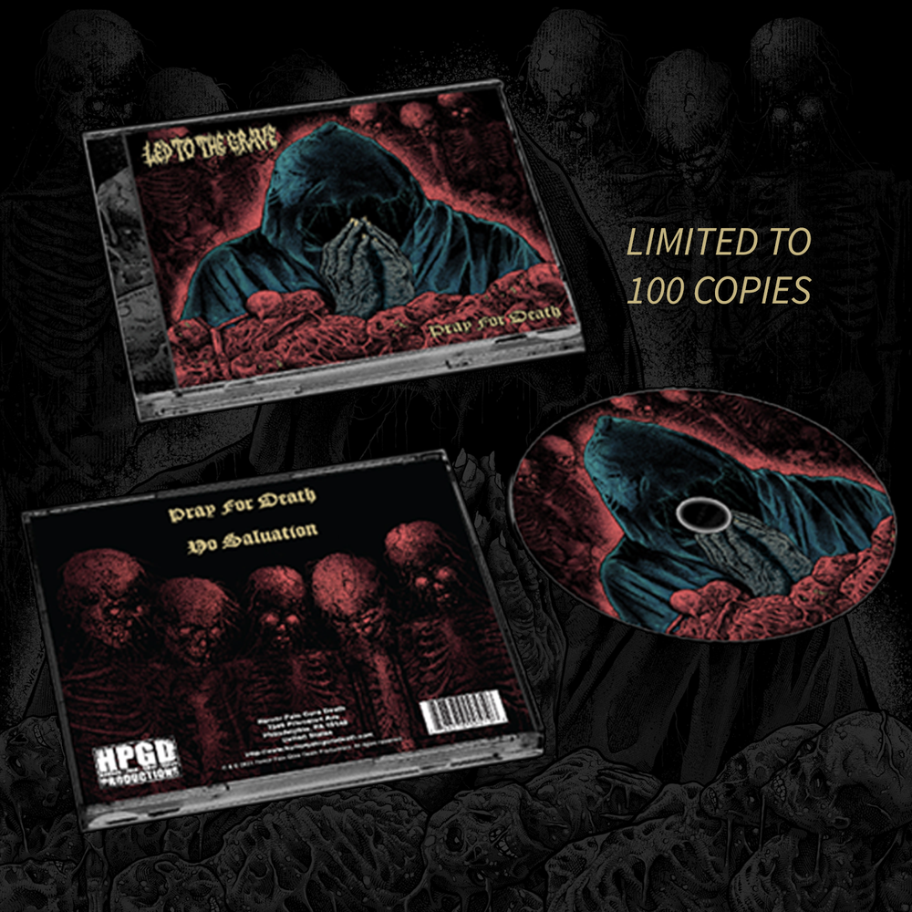 Led To The Grave - Pray For Death - CD/Cassette
