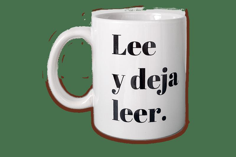 """Image of Taza """"Lee y deja leer"""""""