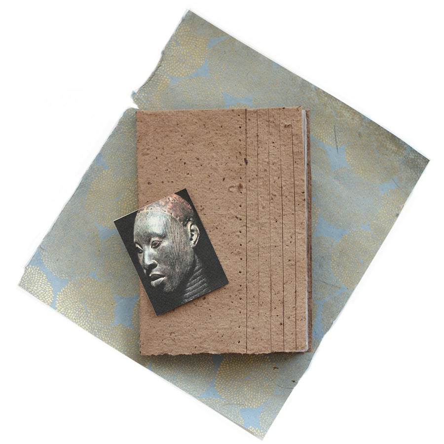 Image of Alagbede notebook - coffee paper