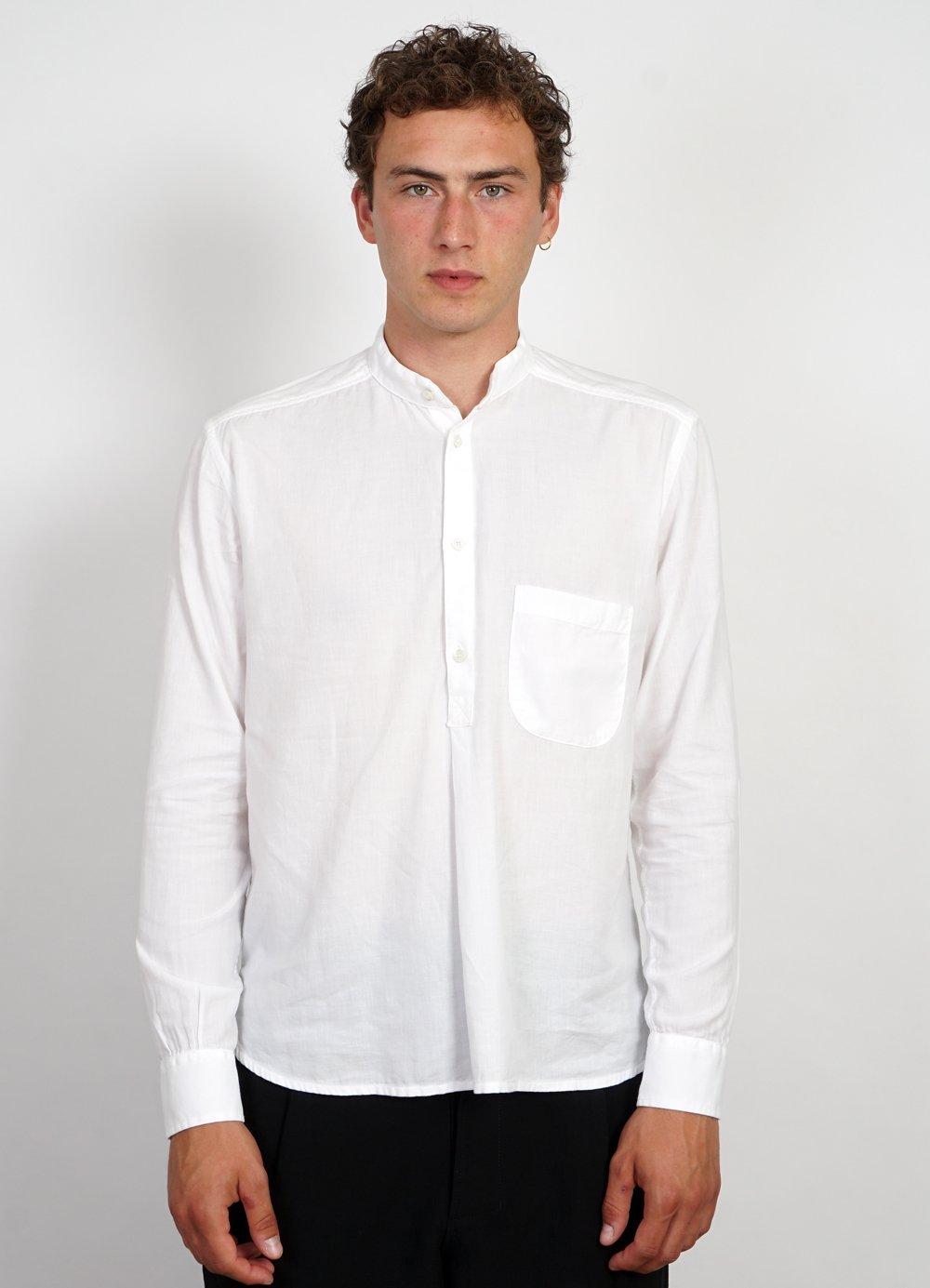 Hansen Garments BASTIAN | Casual Pull On Shirt | white