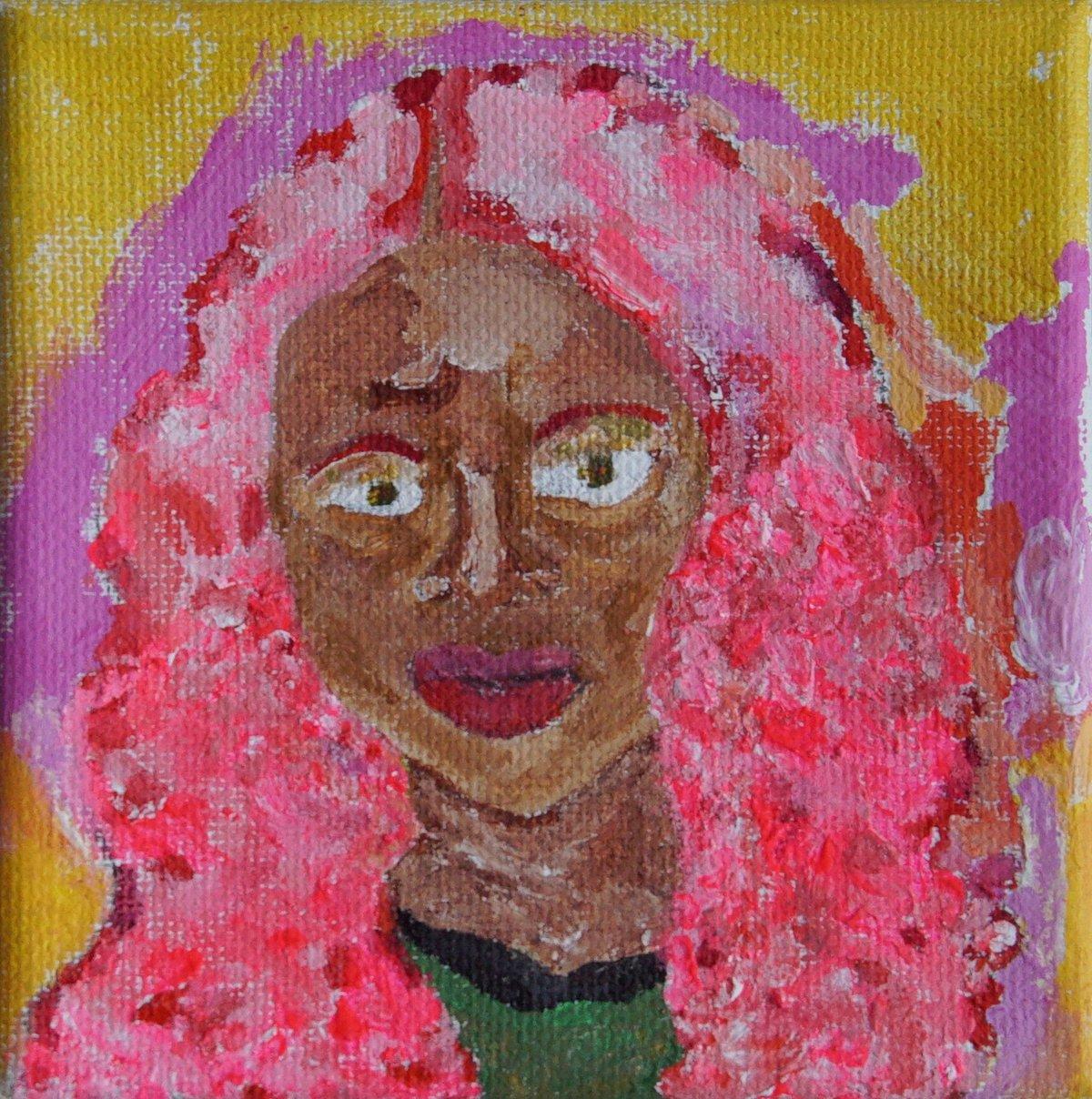 Image of Hot Pink Queen