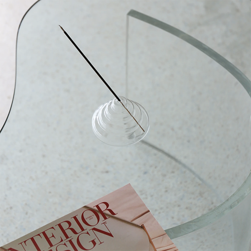 Image of Glass Meso Incense Holder