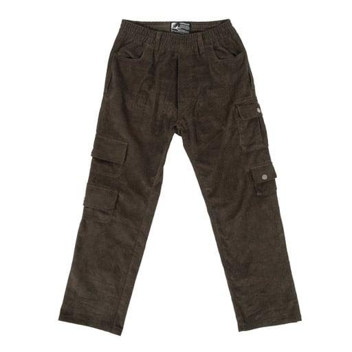 Image of Velvet Corduroy Cargo Pants