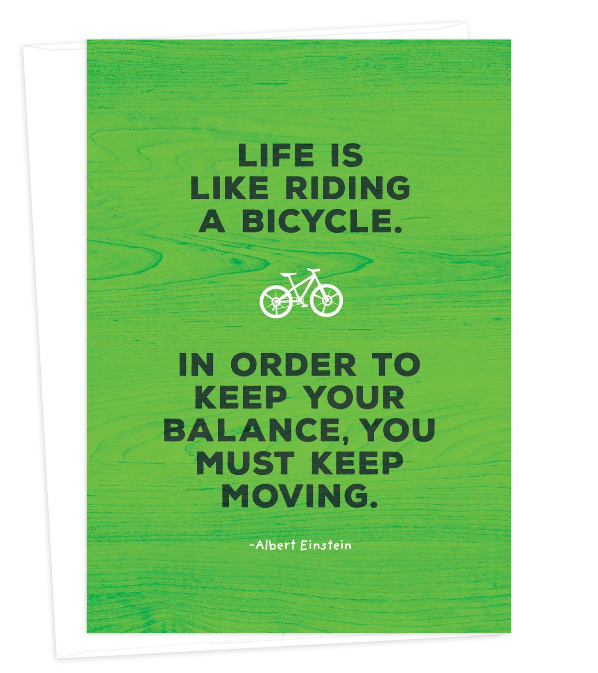 Image of Life is Like a Bike