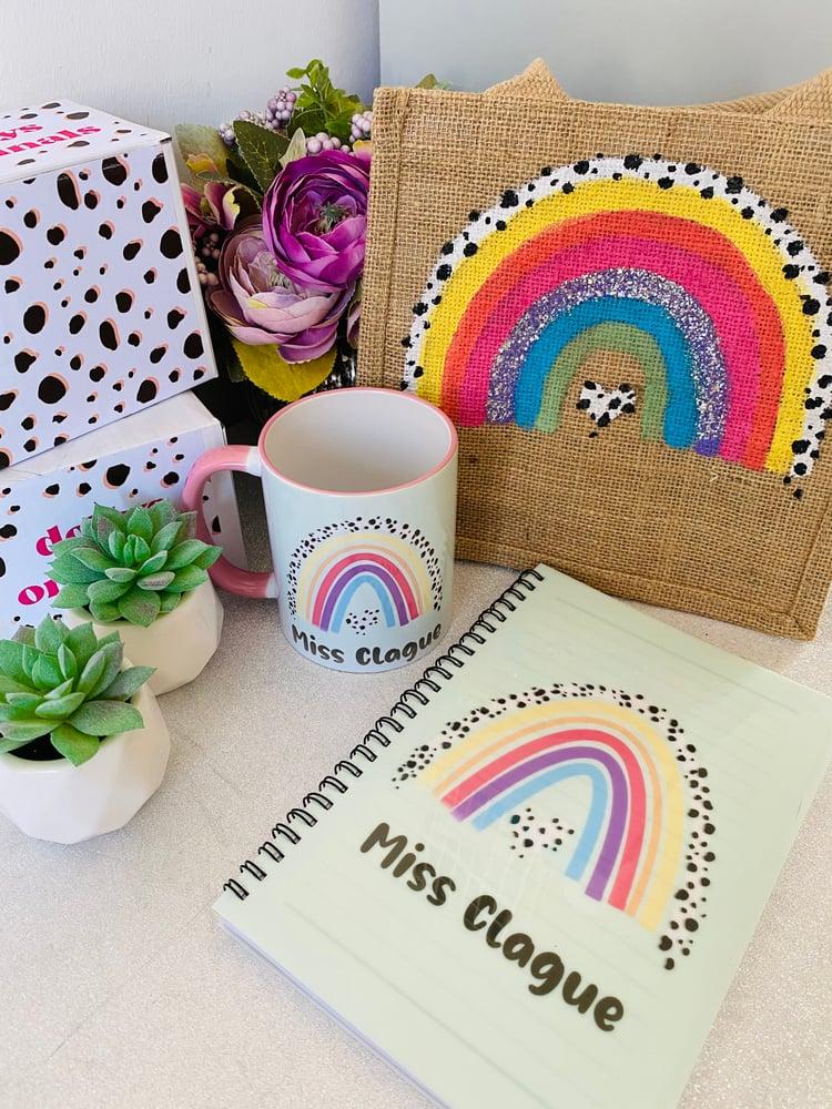 Image of Dalmatian print Rainbow