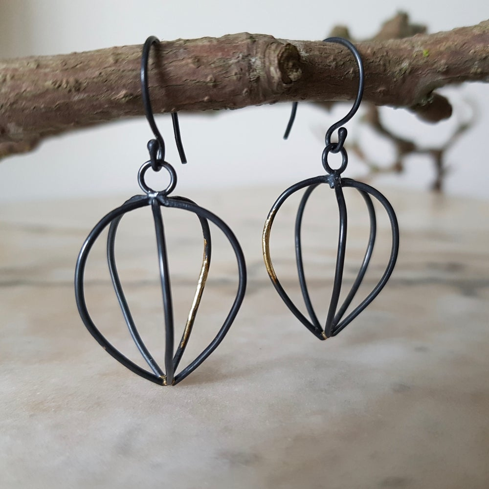 Image of Lantern Earrings - Cages