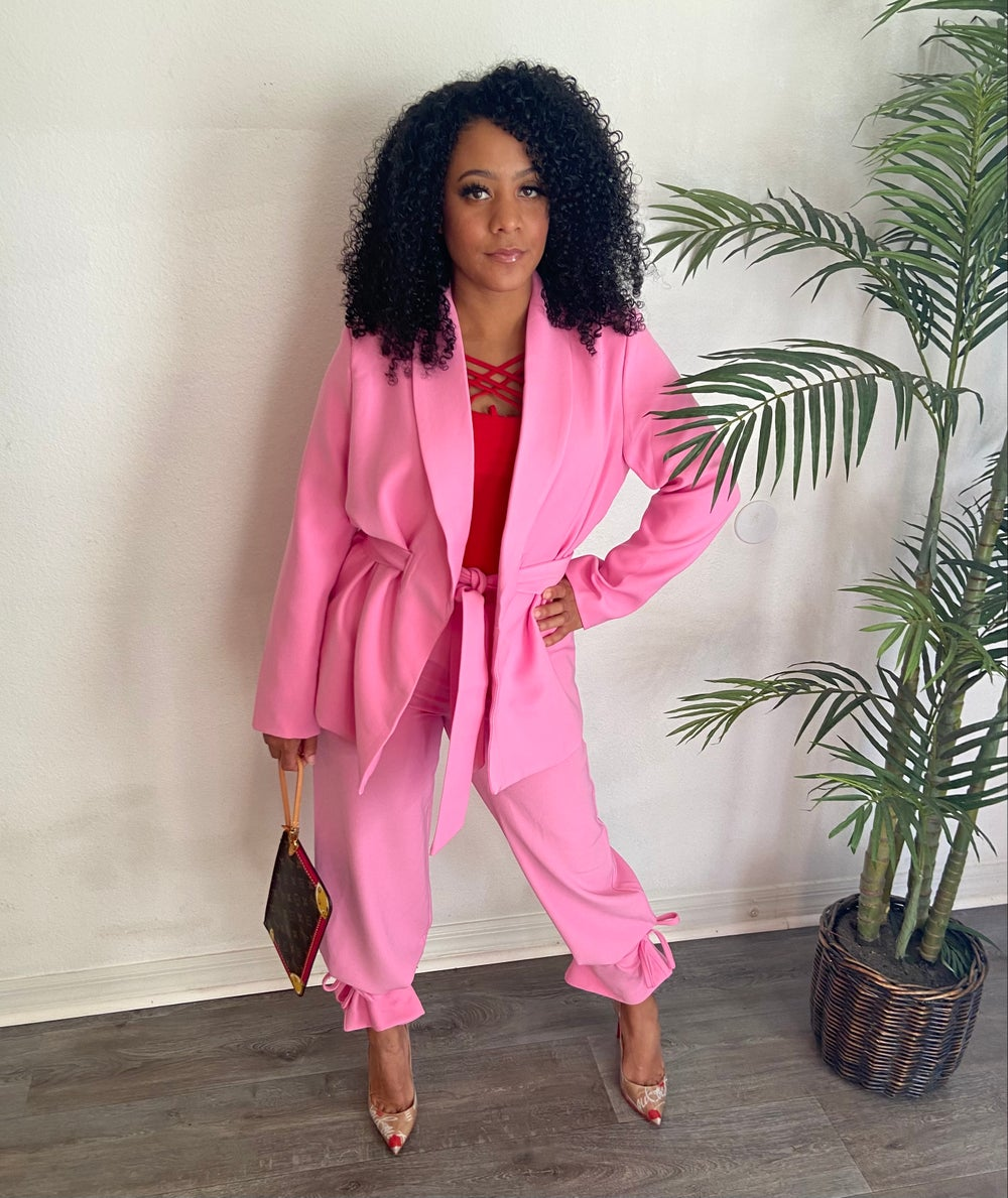 Image of Pretty in Pink Suit