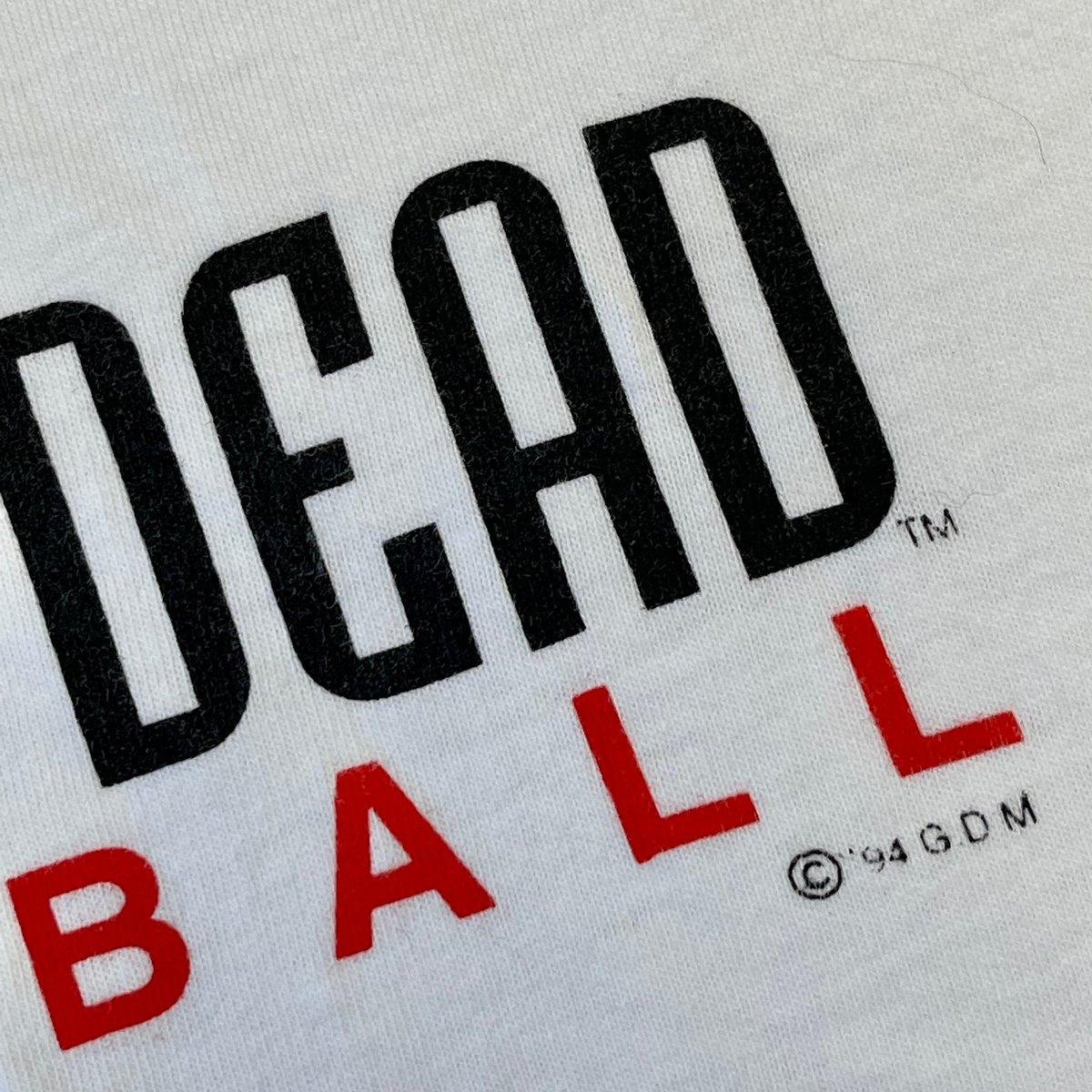 Original Vintage Grateful Dead Basketball 1994 Short Sleeve Tee! - X-LARGE