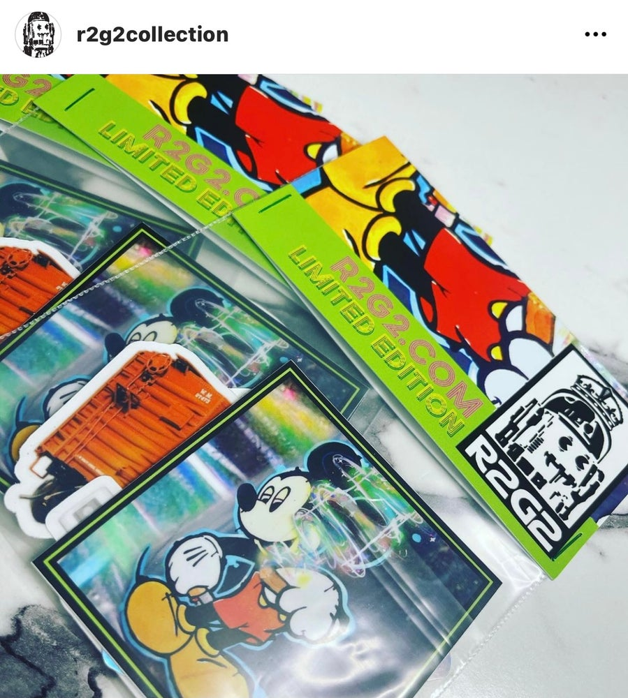 Image of Series 2 sticker pack