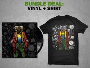 Image of Apathy - Where The River Meets The Sea: VINYL + Shirt [BUNDLE]