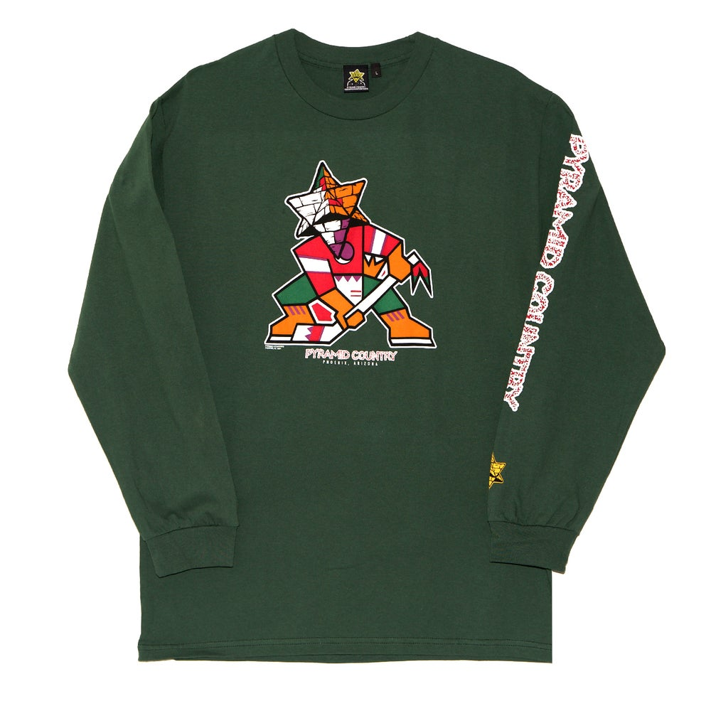 Image of Coyote the Trickster Longsleeve