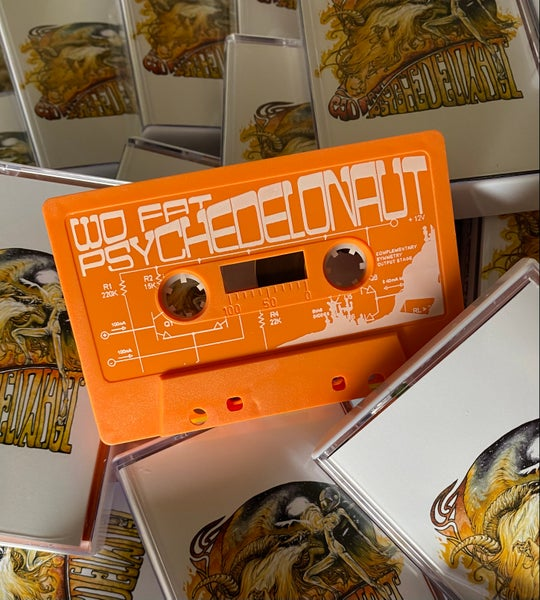 Image of WO FAT 'Psychedelonaut' limited edition cassette