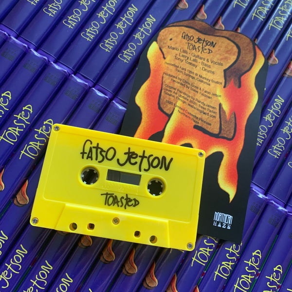 Image of FATSO JETSON 'Toasted' limited edition cassette