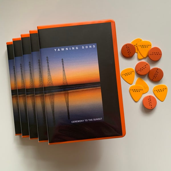 Image of YAWNING SONS 'Ceremony to the Sunset' limited edition cassette