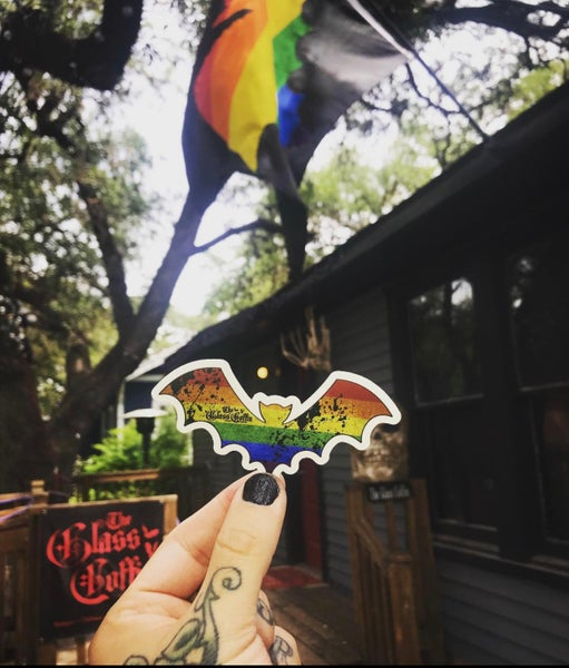 Image of Rainbow Bat Sticker