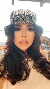 Image of BANDANA BLACK PLACASO BUCKET HATS