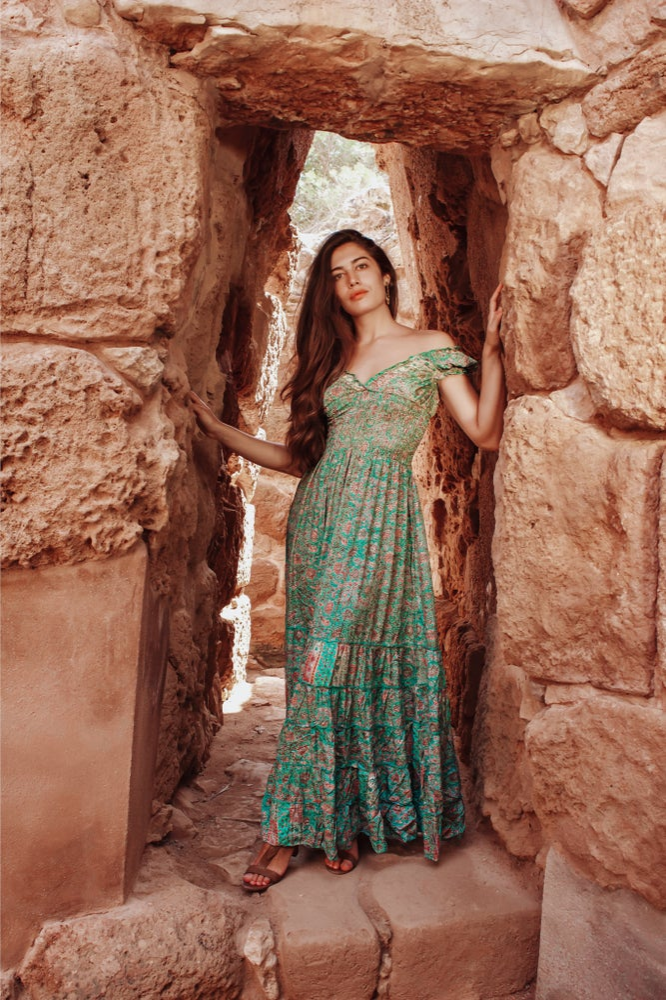 Danah gold blue