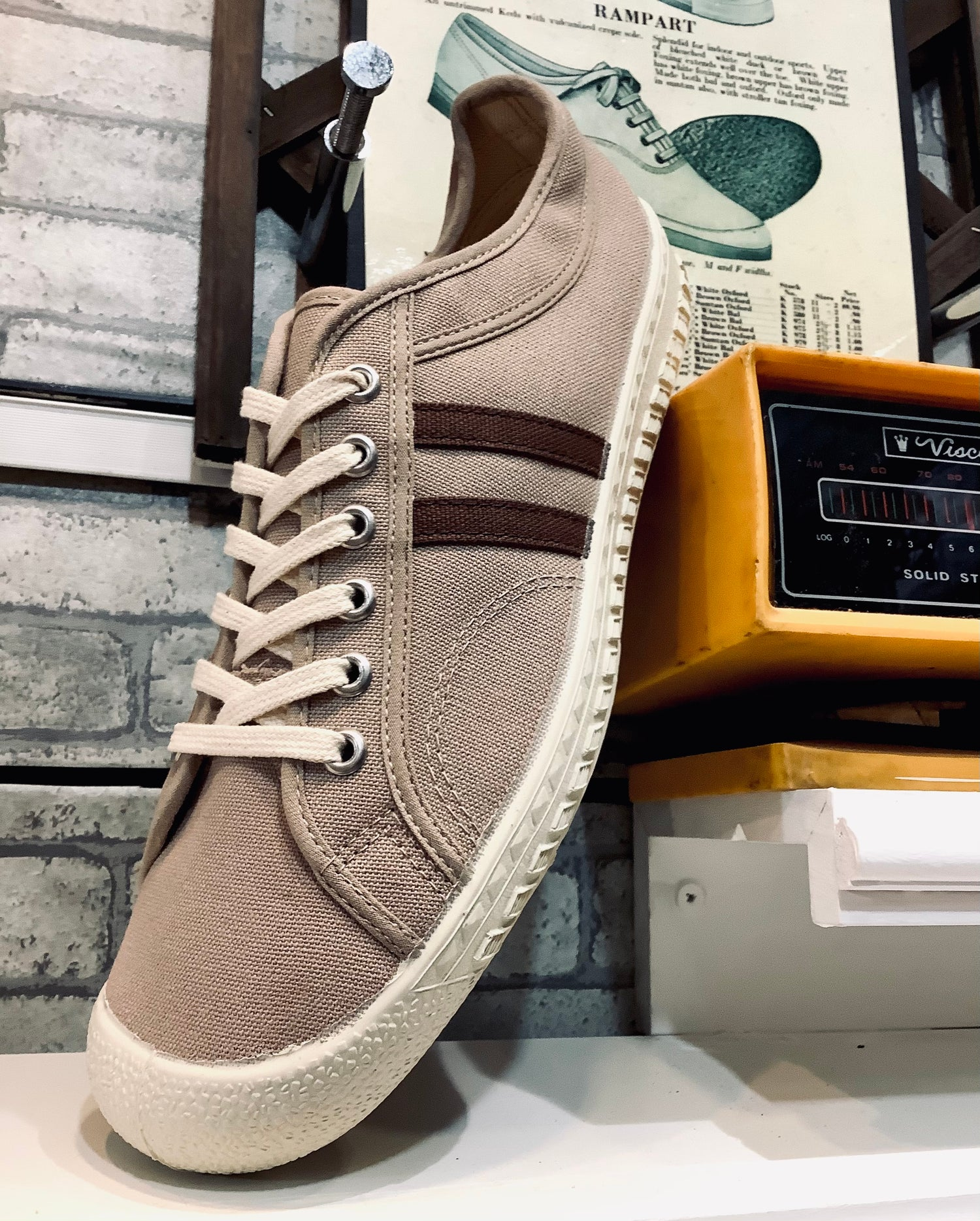 Image of Inn-stant canvas trainer shoes sneaker made in Slovakia