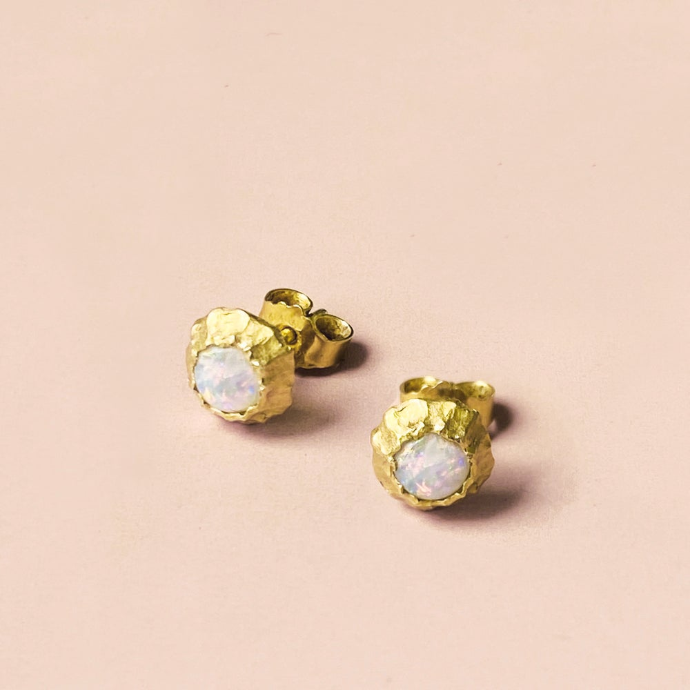 Image of DEIA EARRING / 24K GOLD-COATED SILVER