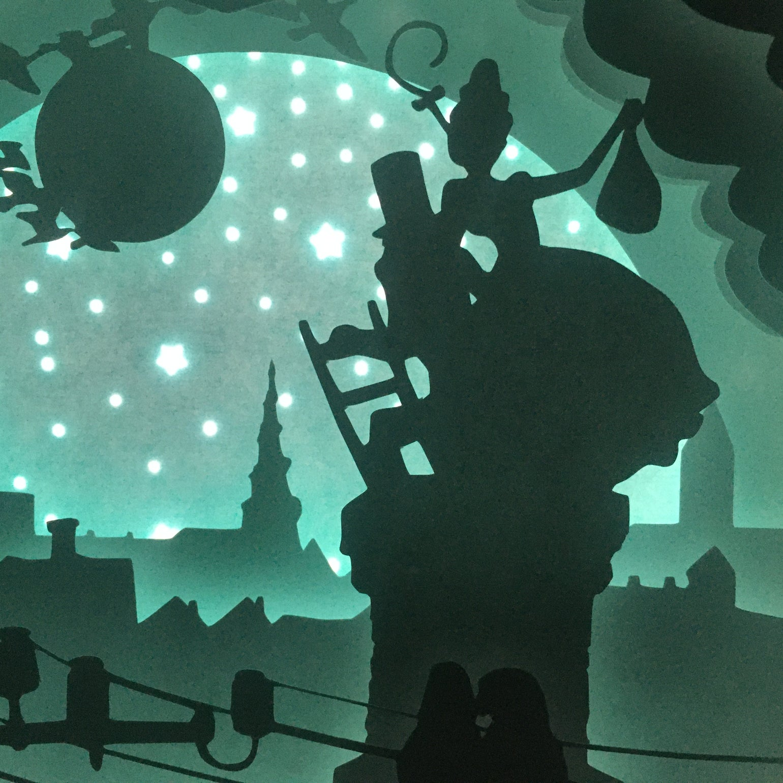 Image of Fairytale Night Light_Hyrdinden og Skorstensferen