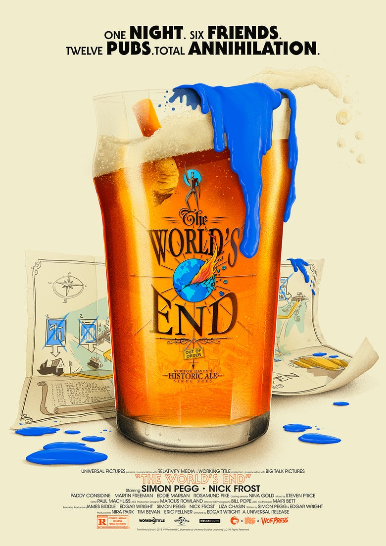 Image of Cornetto Trilogy - The World's End
