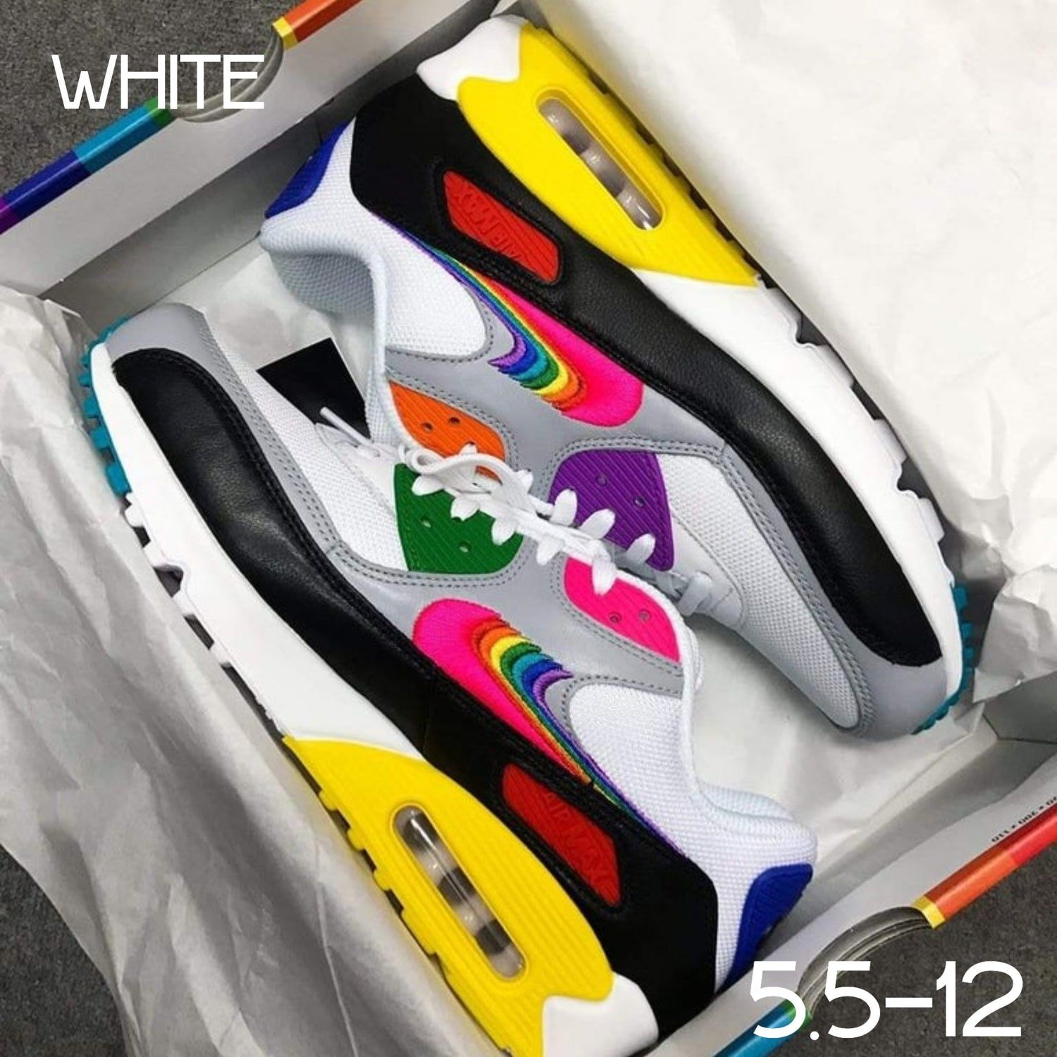 Image of 'Max 90' Athletic Fashion Sneakers (5.5-12) PREORDER