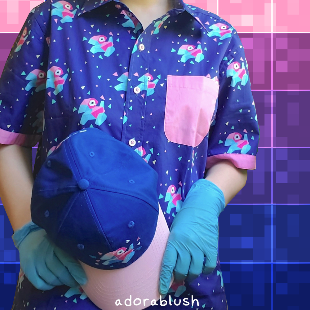 Cyberspace Button-Up Shirt