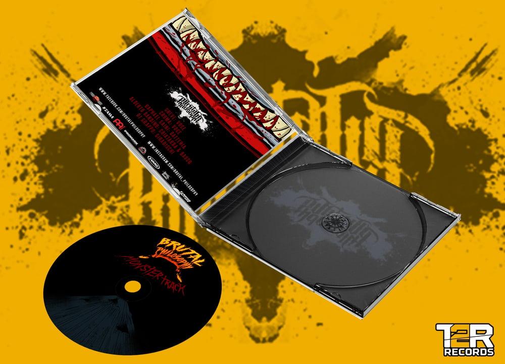 """Brutal Philosophy """"Monstertrack"""" - cd jewel case - PRE ORDER"""