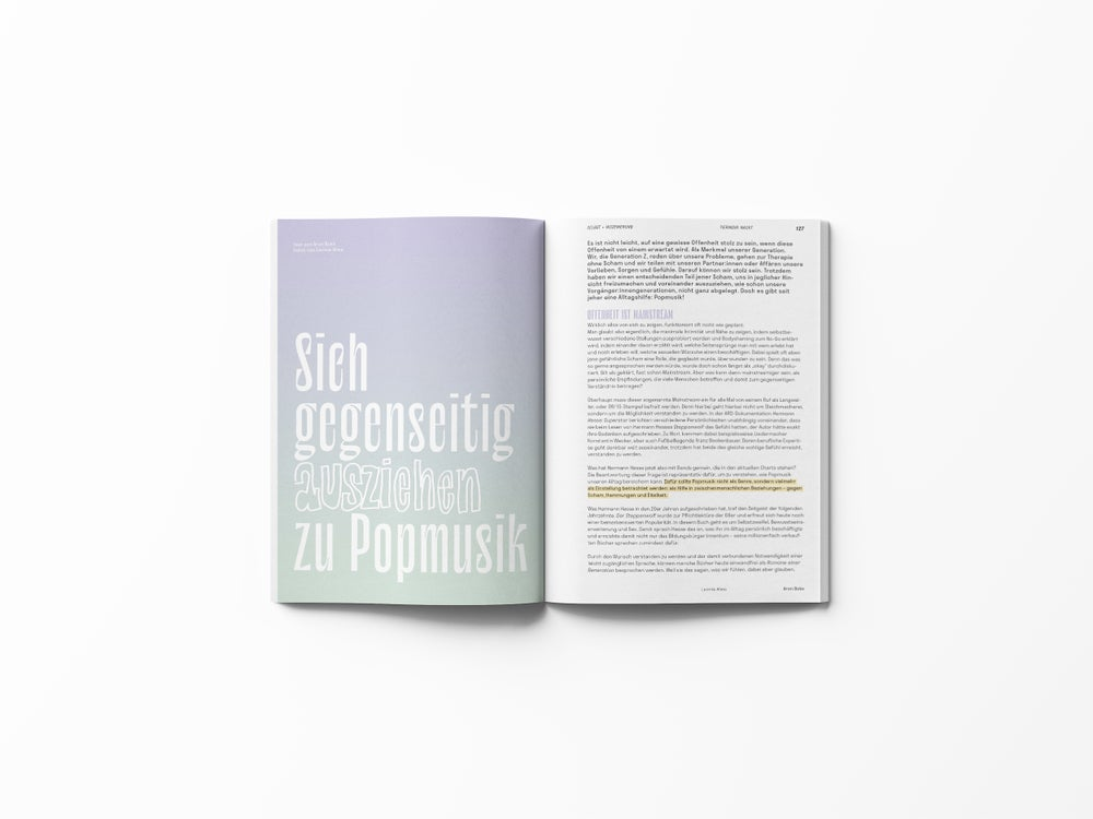 Image of TIERINDIR Magazin No. 2 NACKT + gratis MELAWEAR MASKE