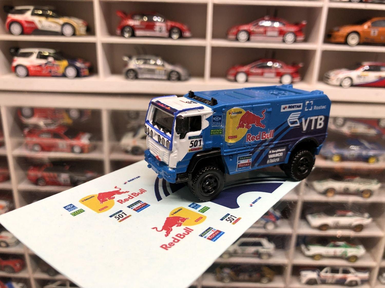 DECALS Kamaz Red Bull Dakar Truck