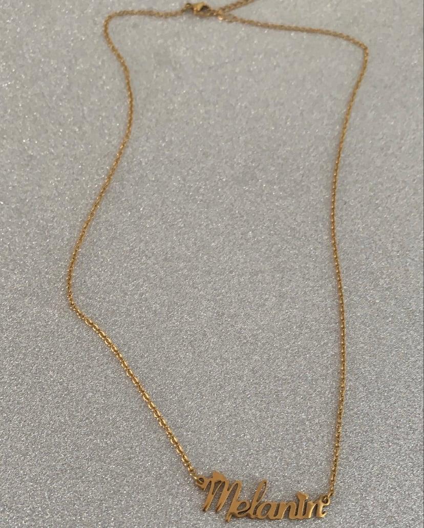 Melanin Necklace