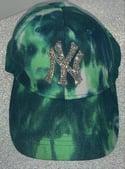 Iced up baseball cap