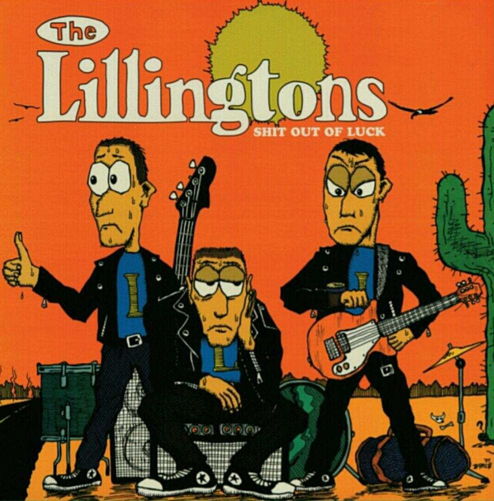 Image of Lillington  Shit Out Of Luck LP