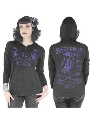 Image of SERPENTINE CLOTHING Skeleton Key Women's Hoodie