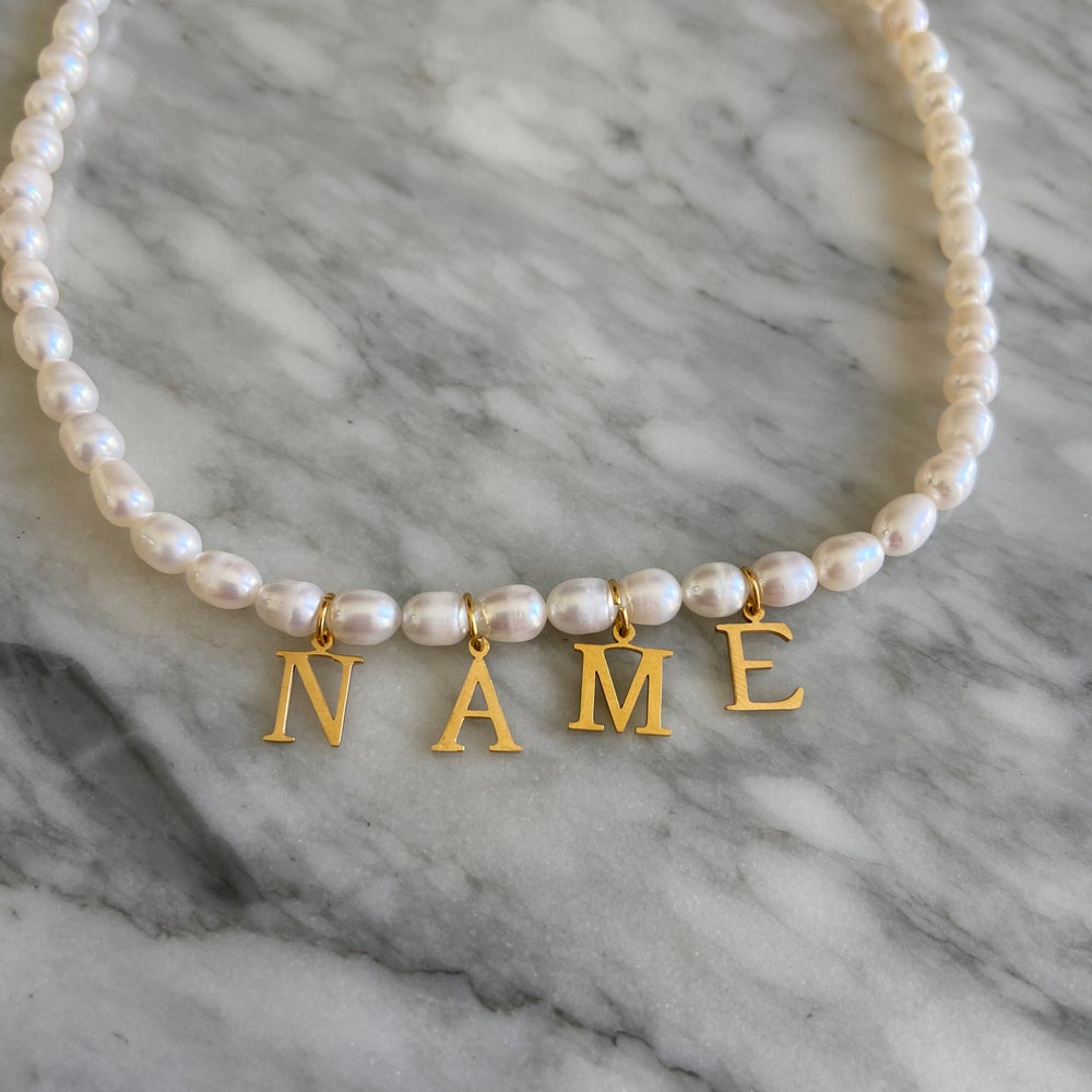 Say My Name Pearl Necklace
