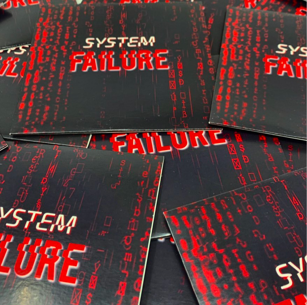 Image of System Failure - Audio CD [Free Shipping] GT002