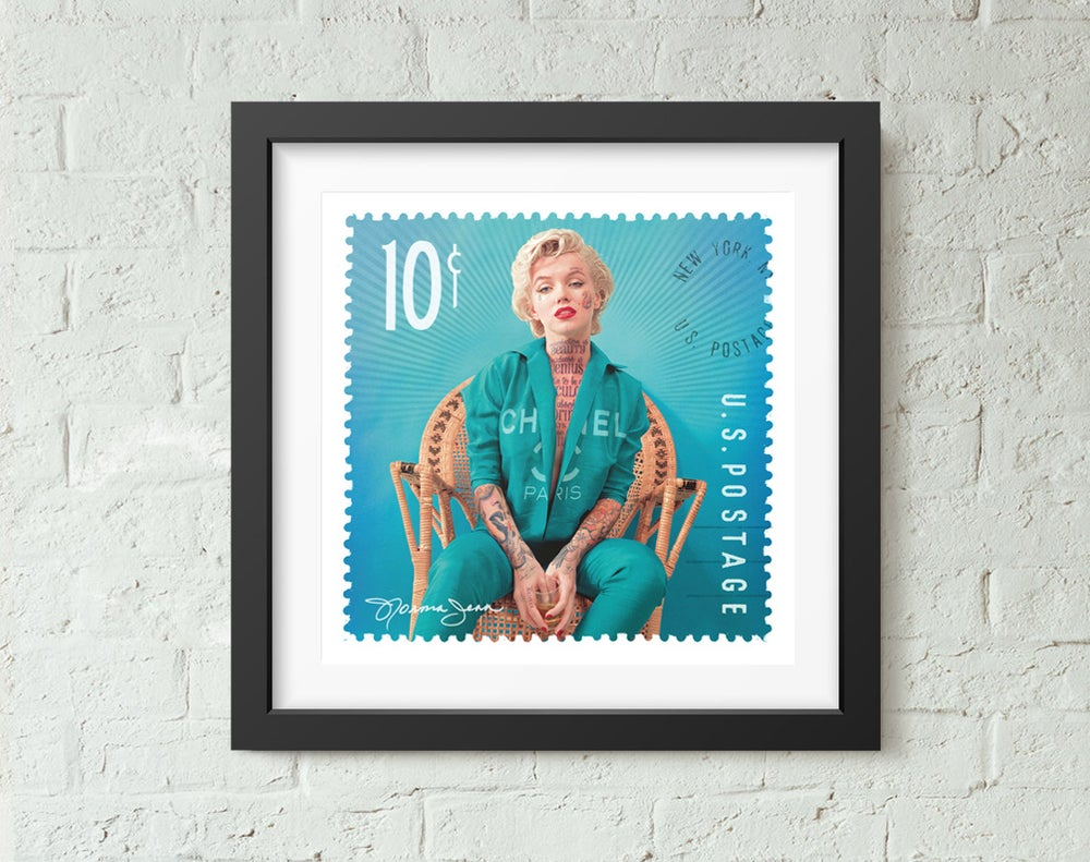 Image of Norma Jean US Stamp
