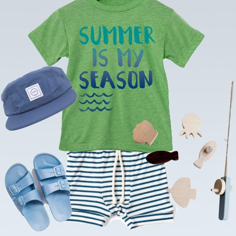 Image of SUMMER IS MY SEASON (GREEN)