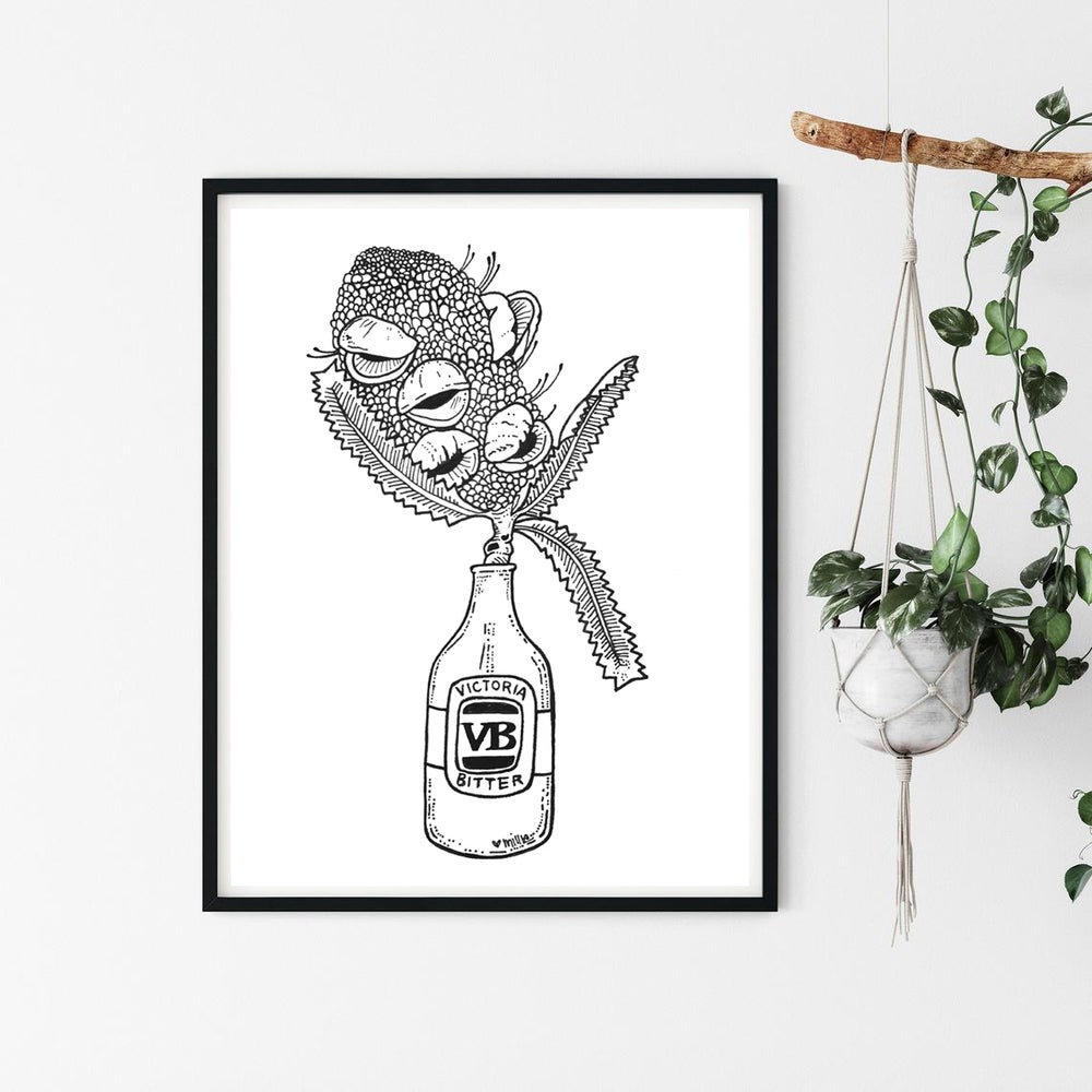 Image of 'Drunk on Nature' / Giclee Print