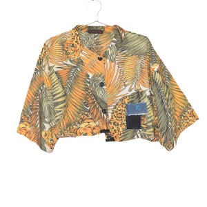 """Image of RZN by RB - """"Rawww""""  Vintage styled leopard button up"""