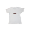contraband star logo tee brown on white.