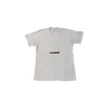 contraband star logo tee brown on white