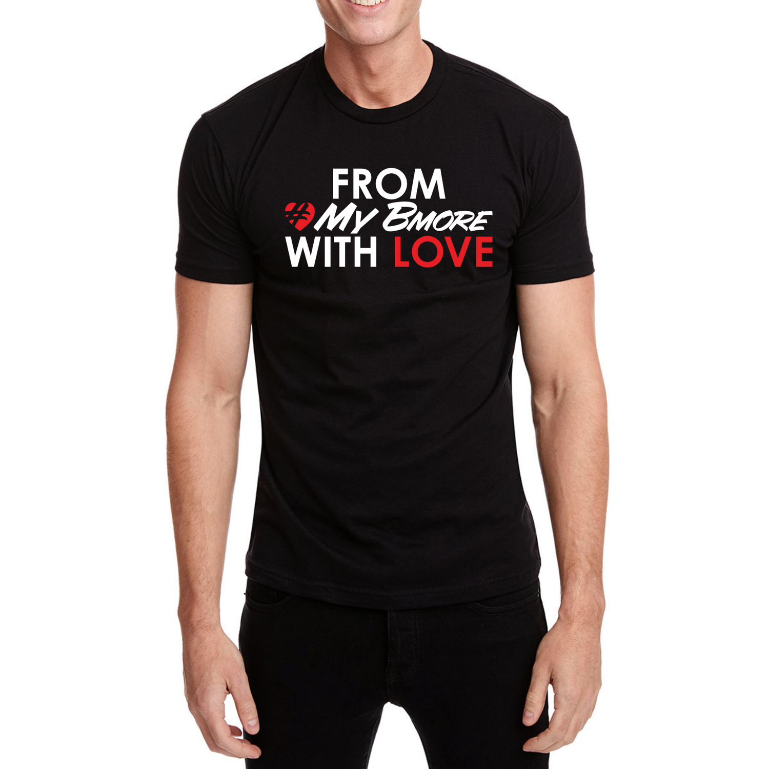 Image of From #MyBmore With Love - Special Edition T-Shirt - Black
