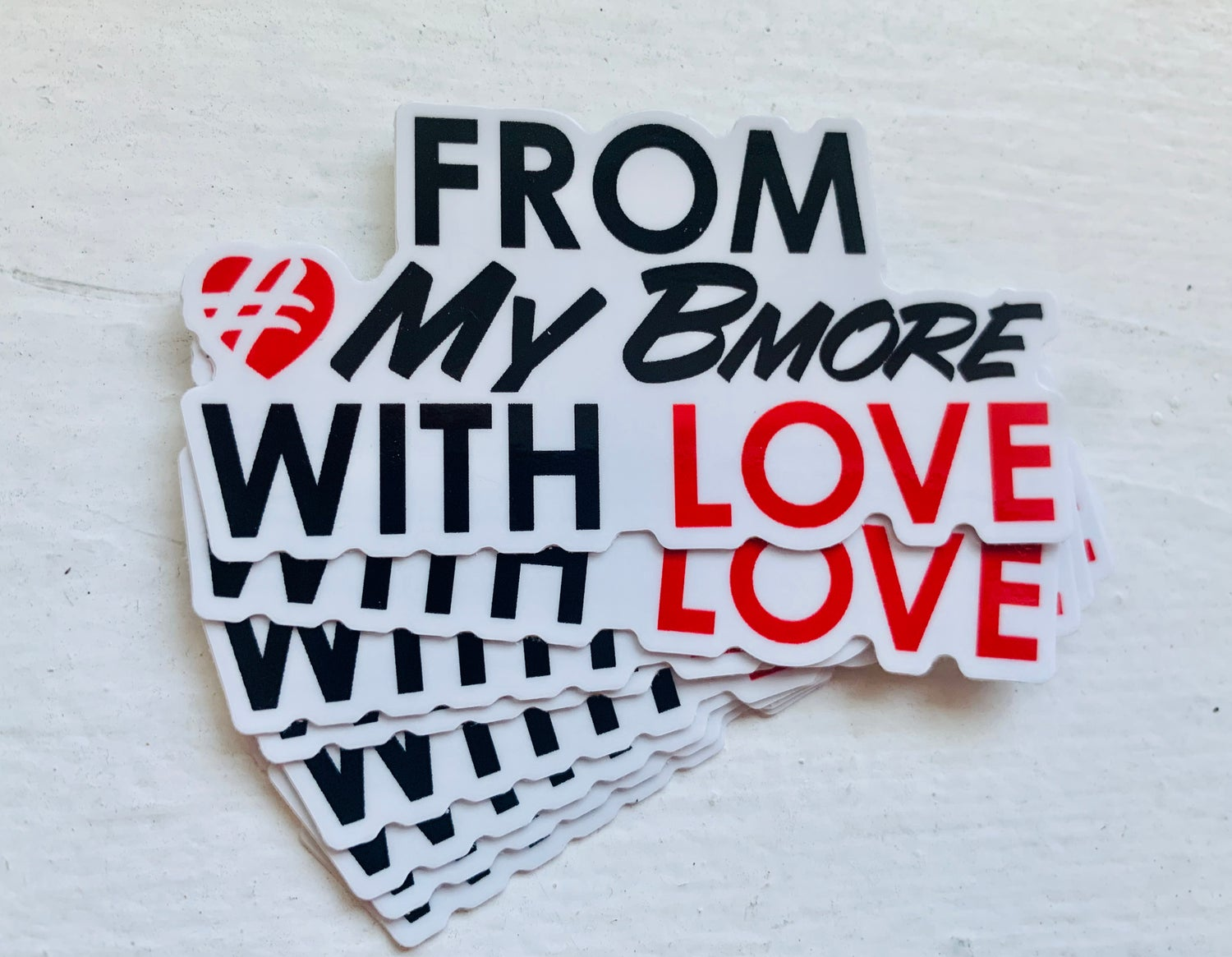 Image of From #MyBmore With Love Sticker